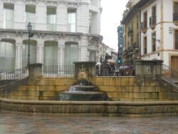 plaza de la catedral - Oviedo