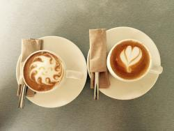 Tradiciones latte art cafe