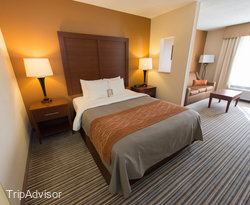 The Business Efficiency Suite at the Comfort Inn at the Park