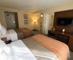 The Family Suite at the Comfort Inn at the Park