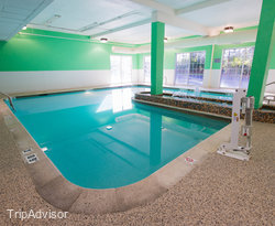 The Pool at the Comfort Inn at the Park