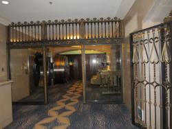 Entrance to meeting room