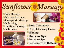 Sunflower Massage