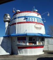Beef Burger Barrel