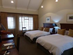 Jättefint hotell i vackra omgivningar