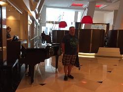 Piano at and reception
