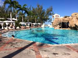 Main pool Caribbean