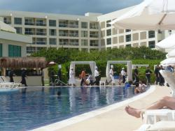 Chefs Parade at the pool