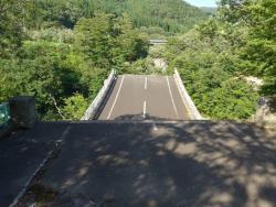 Former Matsurube Ohashi Bridge Remains