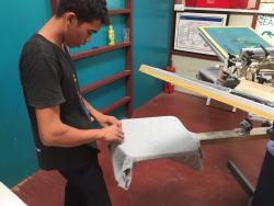 Silk Screen Printing Lab