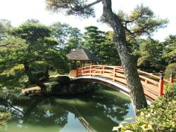 丸亀美術館も含めて素晴らしい庭園です。