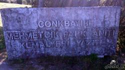 Conk Bayiri Mehmetcik Park Aniti Kemalyeri Yaziti