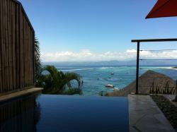 View from lounge to your plunge pool