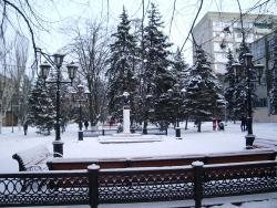 Monument A.S. Pushkin