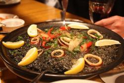 Charcoal cuisine Spanish bar Mon