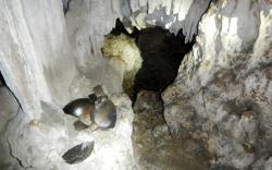 Maya Ruins of Blancaneaux Cave