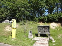 Nauman Statue Excavation Spot
