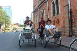 Saigon Rickshaw Adventure