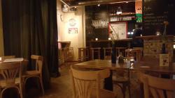 Gezellig knus eetcafé met charmante bediening