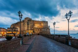 Via Caracciolo e Lungomare di Napoli