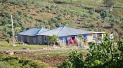 Vue generale de maison rurale houmar