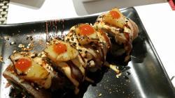 Sushi mit Unterhaltung