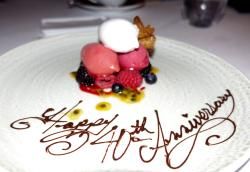 Exceptional Food & Service
