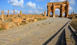 Timgad Roman Ruins