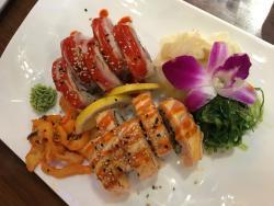 Good sushi, friendly staff