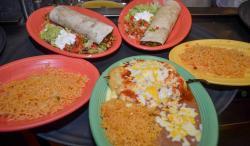 Burrito and poblanos