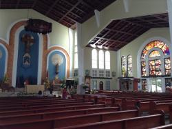 ハガニアにある大きな教会