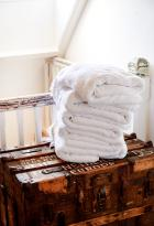 quality linen and towels