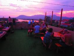 ‪Mad Monkey Rooftop Sunset Bar Kampot‬