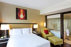 Settle into comfort in a Suite at our Mumbai airport hotel
