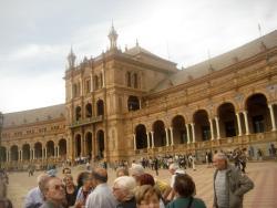 Visione della piazza interna