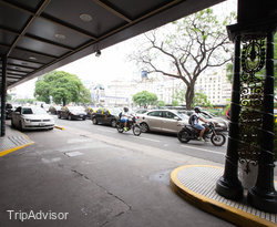 Entrance at the Panamericano Buenos Aires Hotel