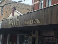 ‪Keith Coffee and Barber‬