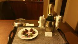 Wedding Anniversary gift from the Front Desk Staff
