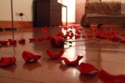 Decoración plan noche de bodas
