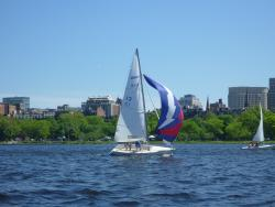 Using the spinnaker on the Ideal