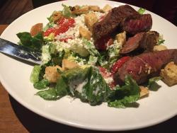 Black & Blue – good salad & GREAT stake