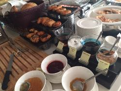 Breakfast buffet (300 baht) was reasonably priced, a lot of food!