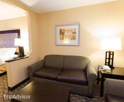 The King Suite at the Holiday Inn Express Hotel & Suites North Seattle - Shoreline