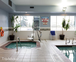 The Pool at the Holiday Inn Express Hotel & Suites North Seattle - Shoreline