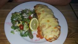 Tuna and cheese melt & chicken and chorizo melt