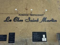 Le Clos Saint Martin