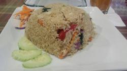 Frangrant fried rice.
