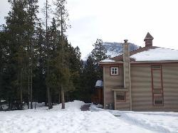 Outside view in winter