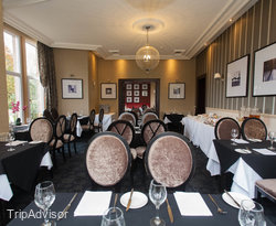 Dining Room at the Rosslea Hall Country House Hotel
