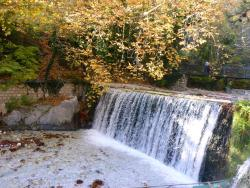 Waterfalls in Loutraki Aridaias
